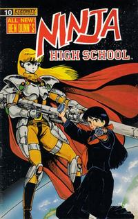 Cover Thumbnail for Ninja High School (Malibu, 1988 series) #10