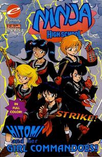 Cover Thumbnail for Ninja High School In Color (Malibu, 1992 series) #12