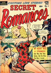 Cover for Secret Romances (1951 series) #1