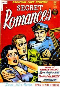 Cover Thumbnail for Secret Romances (Superior Publishers Limited, 1951 series) #14