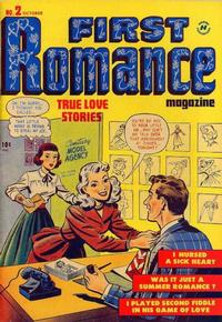 Cover Thumbnail for First Romance Magazine (Harvey, 1949 series) #2