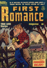 Cover Thumbnail for First Romance Magazine (Harvey, 1949 series) #12