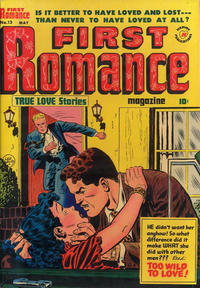 Cover Thumbnail for First Romance Magazine (Harvey, 1949 series) #13