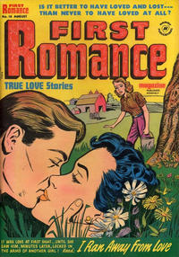 Cover Thumbnail for First Romance Magazine (Harvey, 1949 series) #16