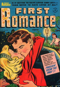 Cover Thumbnail for First Romance Magazine (Harvey, 1949 series) #23