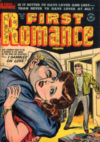 Cover Thumbnail for First Romance Magazine (Harvey, 1949 series) #24