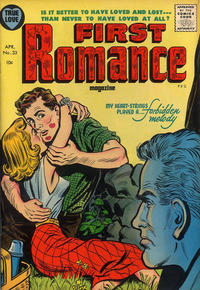 Cover Thumbnail for First Romance Magazine (Harvey, 1949 series) #33