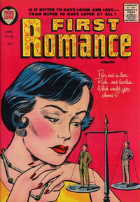 Cover Thumbnail for First Romance Magazine (Harvey, 1949 series) #34