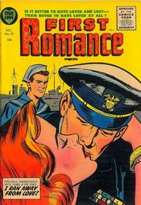 Cover Thumbnail for First Romance Magazine (Harvey, 1949 series) #37