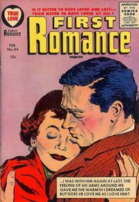 Cover Thumbnail for First Romance Magazine (Harvey, 1949 series) #44