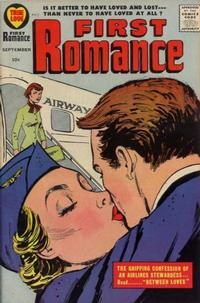 Cover Thumbnail for First Romance Magazine (Harvey, 1949 series) #51