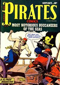 Cover Thumbnail for Pirates Comics (Hillman, 1
