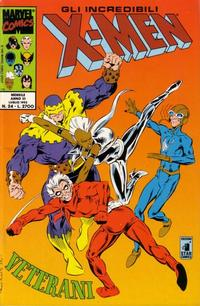 Cover Thumbnail for Gli Incredibili X-Men (Edizioni Star Comics, 1990 series) #24