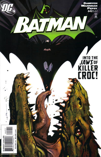 Cover for Batman (DC, 1940 series) #642