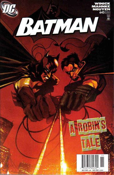 Cover for Batman (DC, 1940 series) #645 [Newsstand]