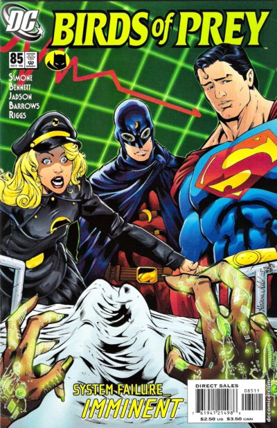 Cover for Birds of Prey (DC, 1999 series) #85