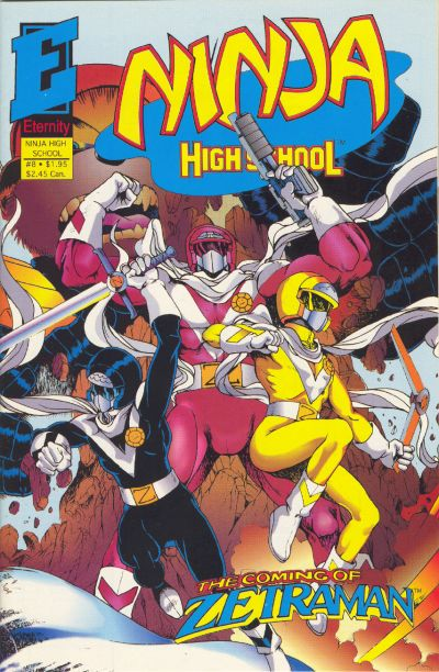Cover for Ninja High School in Color (Malibu, 1992 series) #8