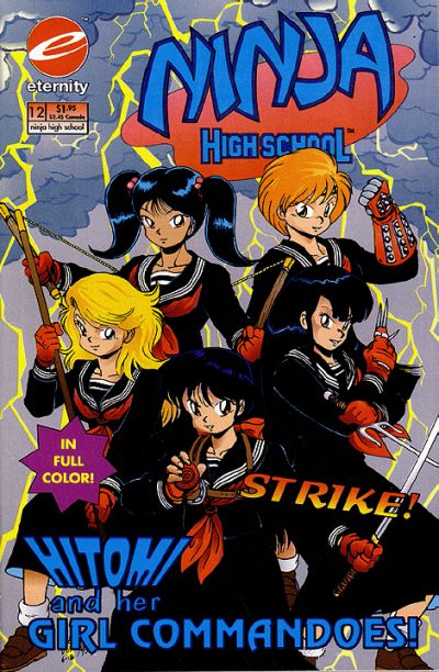 Cover for Ninja High School in Color (Malibu, 1992 series) #12