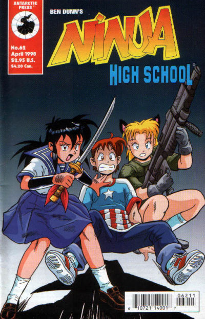 Cover for Ninja High School (Antarctic Press, 1994 series) #62