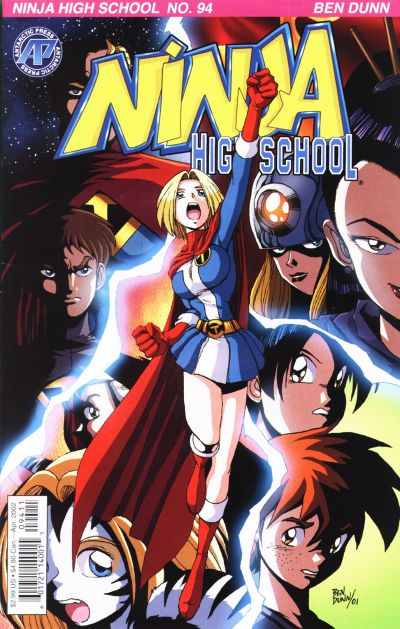 Cover for Ninja High School (Antarctic Press, 1994 series) #94