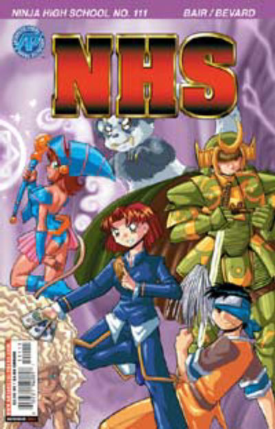 Cover for Ninja High School (1994 series) #111