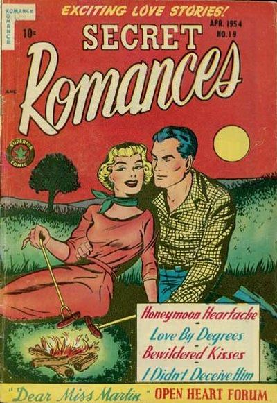 Cover for Secret Romances (Superior Publishers Limited, 1951 series) #19