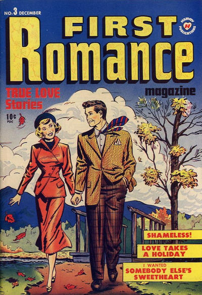 Cover for First Romance Magazine (1949 series) #3