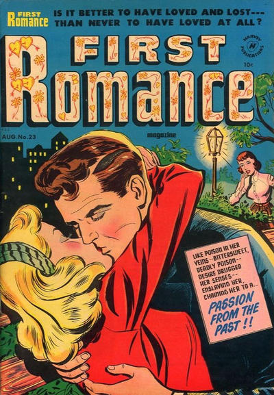 Cover for First Romance Magazine (1949 series) #23