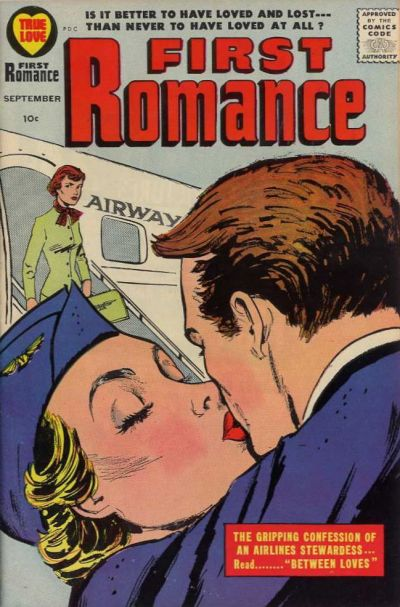 Cover for First Romance Magazine (Harvey, 1949 series) #51
