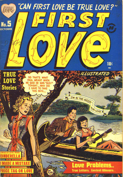 Cover for First Love Illustrated (Harvey, 1949 series) #5