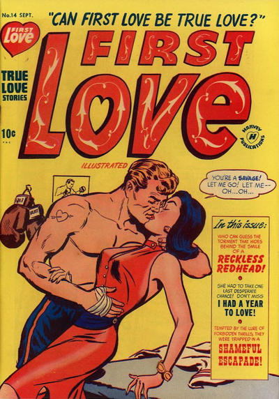 Cover for First Love Illustrated (1949 series) #14