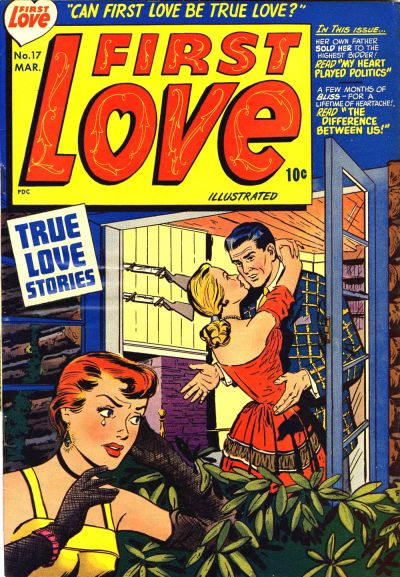Cover for First Love Illustrated (Harvey, 1949 series) #17