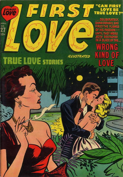 Cover for First Love Illustrated (Harvey, 1949 series) #27