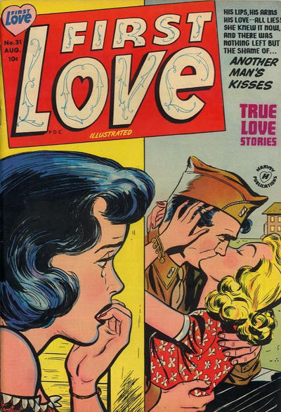 Cover for First Love Illustrated (Harvey, 1949 series) #31