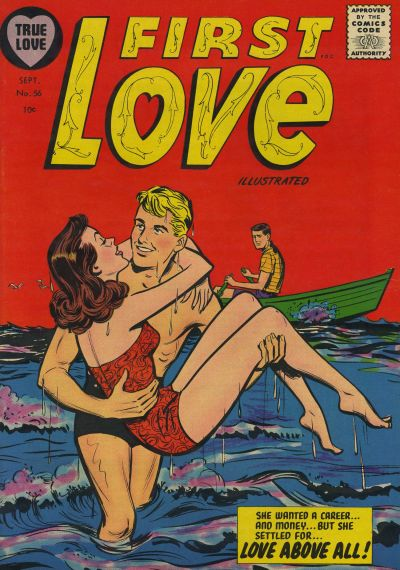Cover for First Love Illustrated (Harvey, 1949 series) #56
