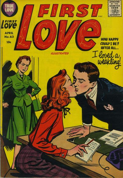 Cover for First Love Illustrated (Harvey, 1949 series) #63