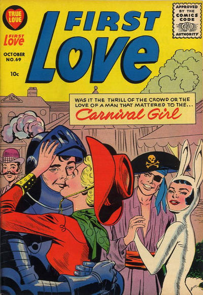 Cover for First Love Illustrated (Harvey, 1949 series) #69