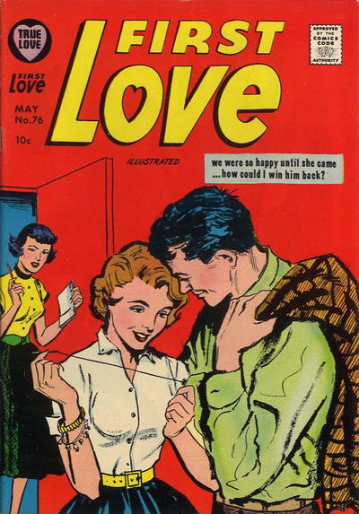 Cover for First Love Illustrated (Harvey, 1949 series) #76