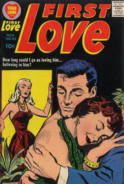 Cover for First Love Illustrated (Harvey, 1949 series) #82