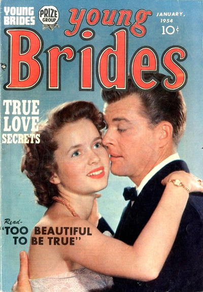 Cover for Young Brides (Prize, 1952 series) #v2#5 [11]