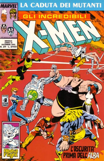 Cover for Gli Incredibili X-Men (1990 series) #29