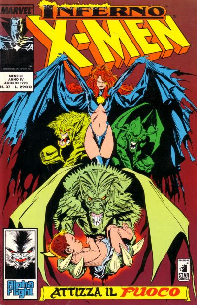 Cover for Gli Incredibili X-Men (Edizioni Star Comics, 1990 series) #37