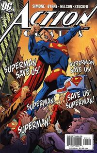 Cover Thumbnail for Action Comics (DC, 1938 series) #830