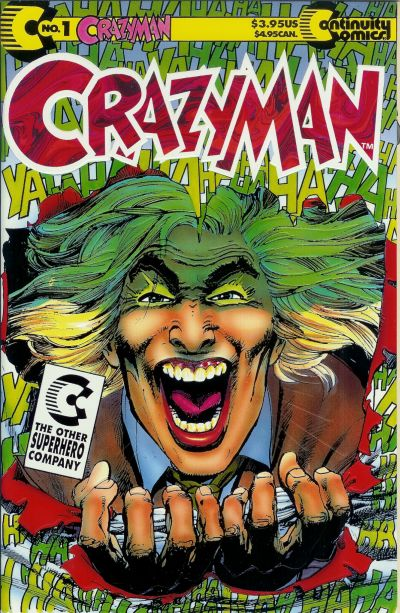 Cover for Crazyman (1992 series) #1
