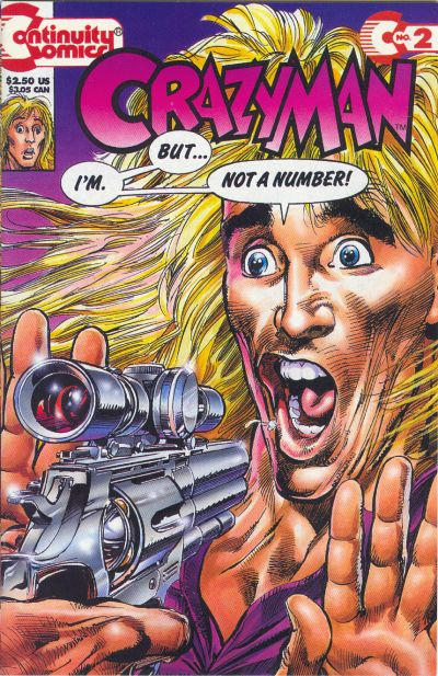 Cover for Crazyman (1993 series) #2