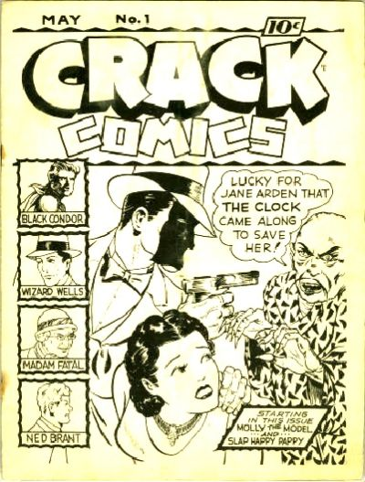 Cover for Crack Comics [ashcan] (Quality Comics, 1940 series) #1