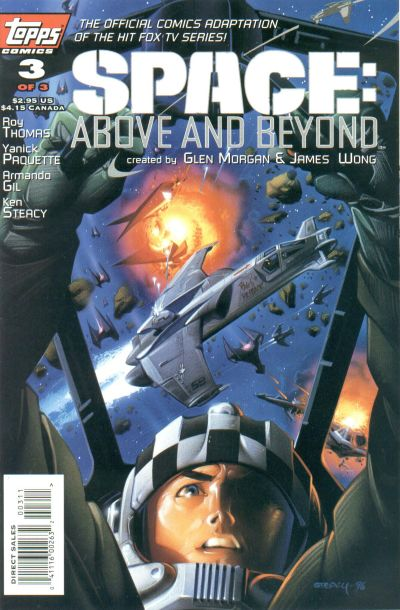 Cover for Space: Above and Beyond (1996 series) #3