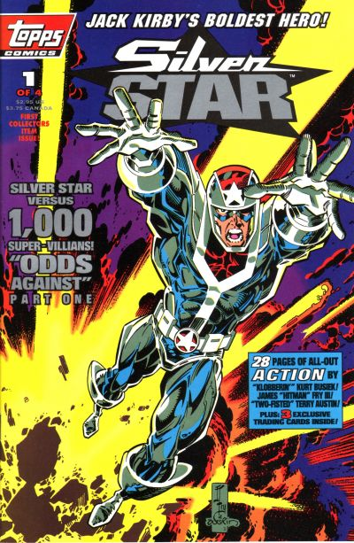 Cover for Jack Kirby's Silver Star (Topps, 1993 series) #1
