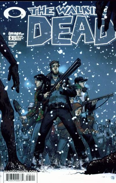 Cover for The Walking Dead (Image, 2003 series) #5