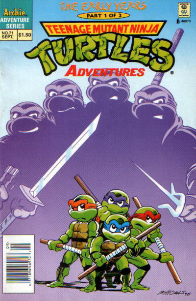 Cover for Teenage Mutant Ninja Turtles Adventures (1989 series) #71